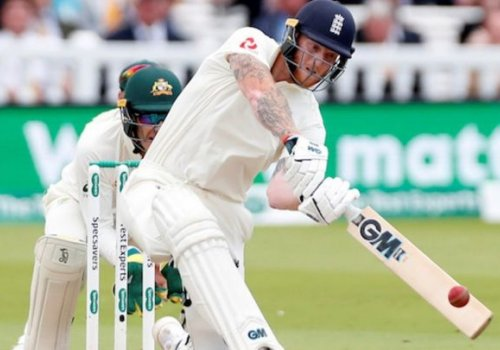Ben Stokes tons up.