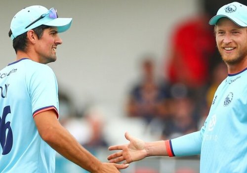 Alastair Cook and Tom Westley