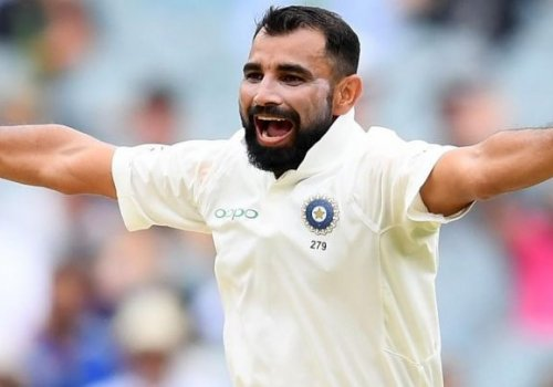 Shami had no wickets to show for his sizzling endeavor.