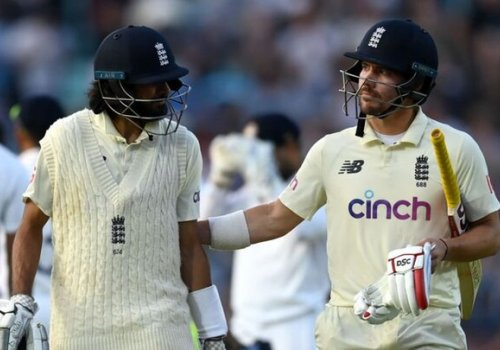 Haseeb Hameed and Rory Burns